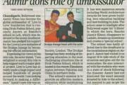 Aamir dons role of ambassador
